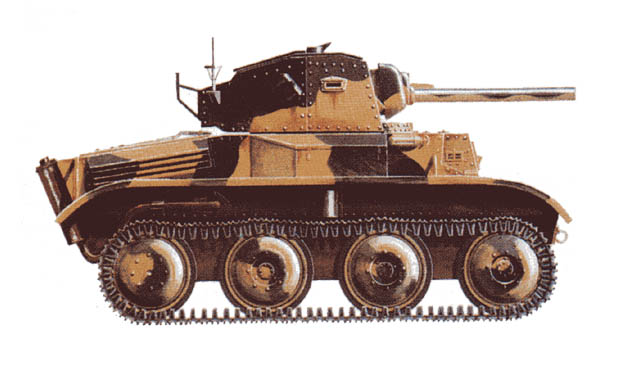 Light Tank Mk VII Tetrarch - The Patriot Files Forums